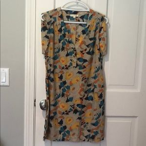Colorful Sz L dress